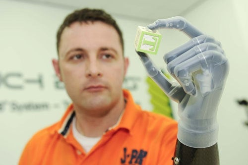 A Bionic Hand Is the Ultimate Bluetooth Accessory