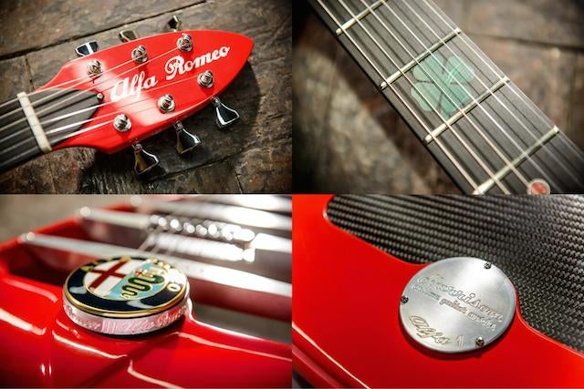 For $6,800 You Can Now Own A Custom Alfa Romeo Guitar