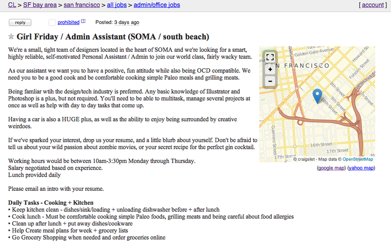 Startup Seeks Dream Girl To Grill Office Meats