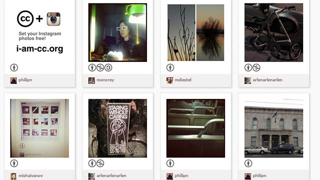 Easily Publish All Your Instagram Photos to Creative Commons