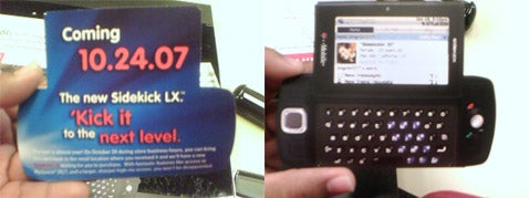 Sidekick LX Gets Release Date and More Grainy Shots