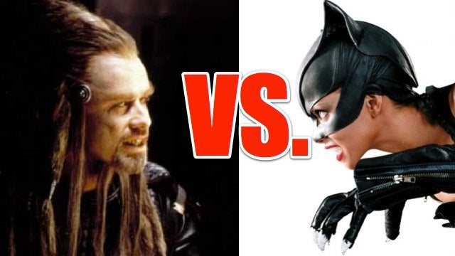 The Final Showdown For The Worst Scifi Movie Ever Made: Battlefield Earth Vs. Catwoman