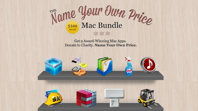 Name Your Own Price for $340 Worth of Mac Apps, a Portion Goes to Charity