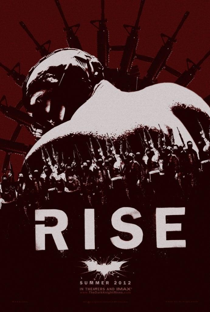 Dark Knight Rises posters