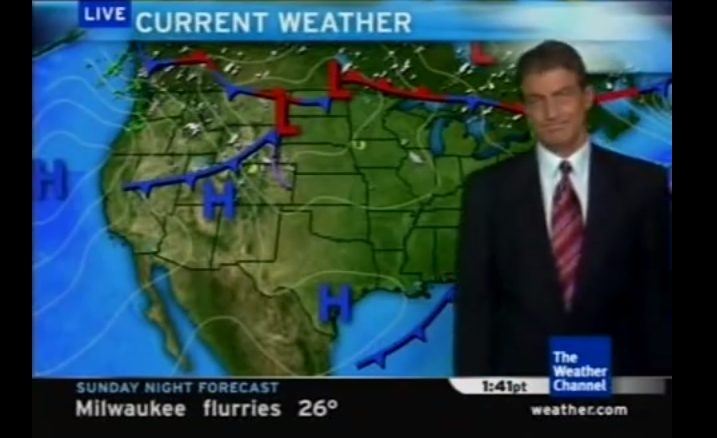 Dave Schwartz's Weather Channel Return Is Straight From The Office