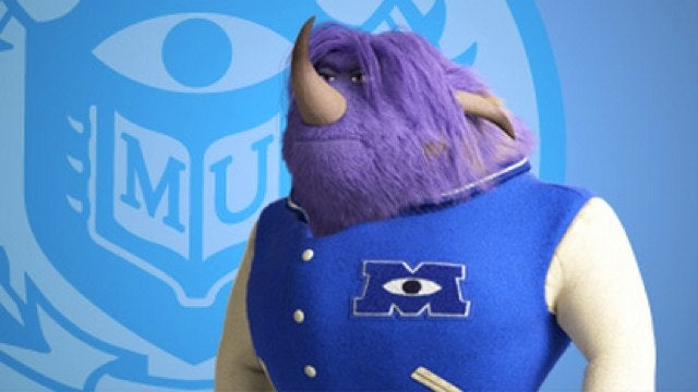Behold the wild campus from Pixar's Monsters University