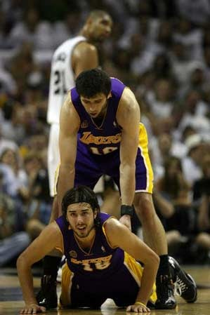 NBA Playoffs: Lakers-Spurs, Game 5