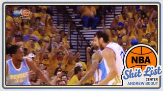 NBA Shit List: Andrew Bogut, The Honky Messiah