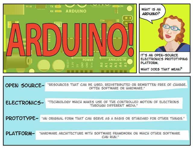 Learn the Arduino Platform By Reading This Comic Strip