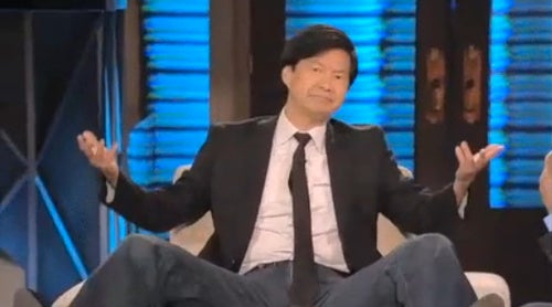Ken Jeong is an Absolute Delight on Lopez Tonight