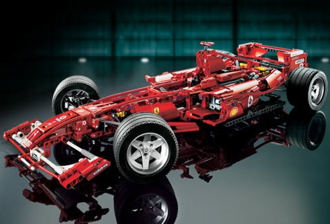 Jalopnik Holiday Gift Guide: Lego Ferrari F1 Racer