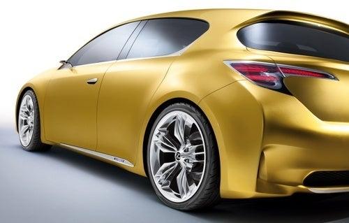 Lexus LF-Ch Concept: Premium Hatch Heads To Frankfurt