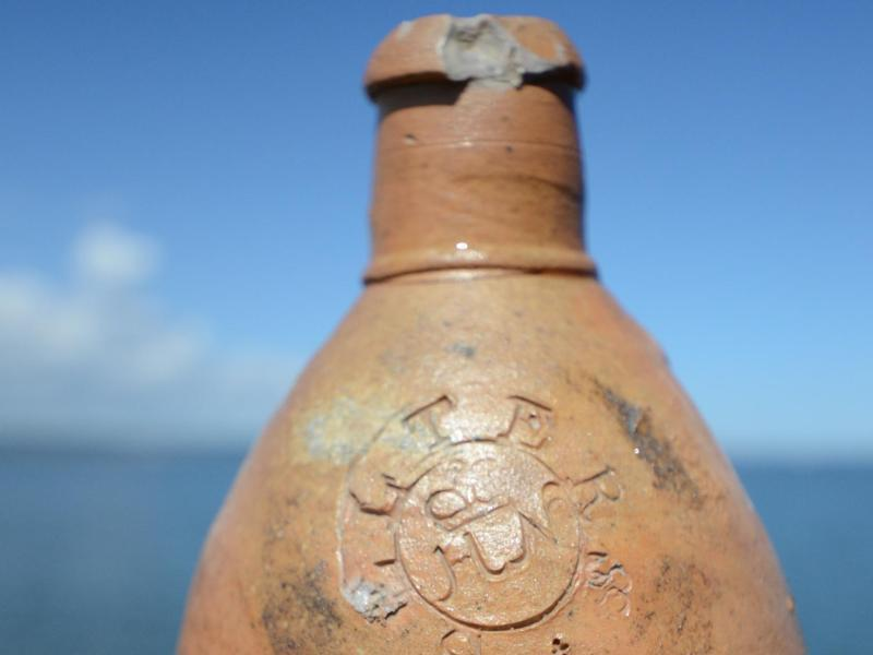 Archaeologists Have Found an Unopened, 200-Year-Old Bottle Of Seltzer
