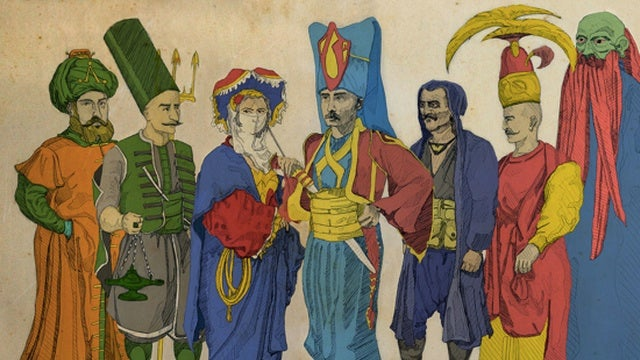 What if the Justice League defended the Ottoman Empire?