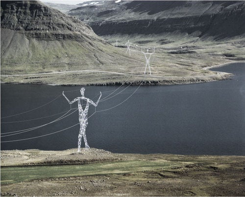 Giant Metal Humanoids In Running to Conduct Iceland's Electricity
