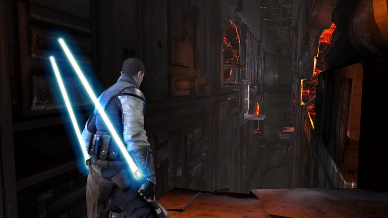 These Aren't (Or Maybe Are) The Force Unleashed II Screens You're Looking For