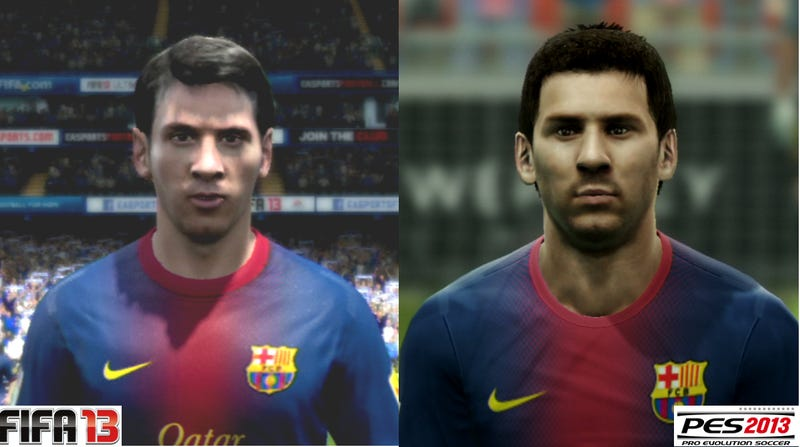 Which Does Soccer Faces Better: Fifa 13 or PES 2013? Let's Find Out!