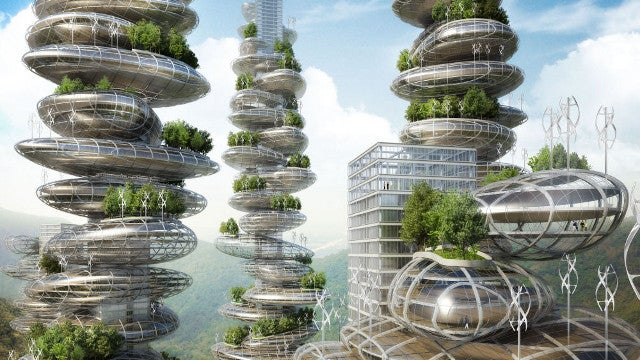 China's 'farmscrapers' are highrises that will generate their own food