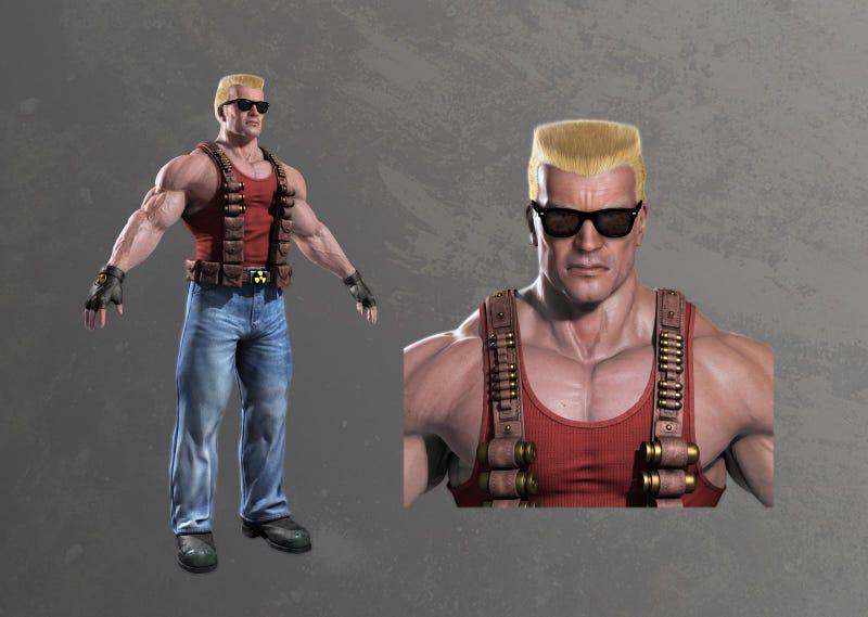 Even More Duke Nukem Forever Art Showcases Duke, Strippers And MILFs