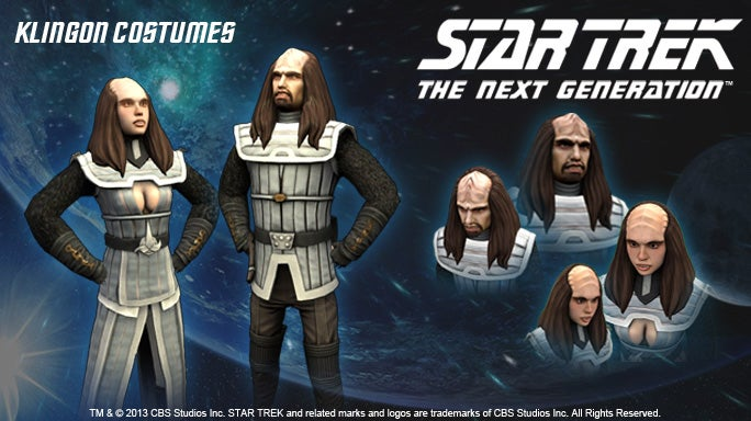 So Much Wrong With These PlayStation Home Star Trek Costumes