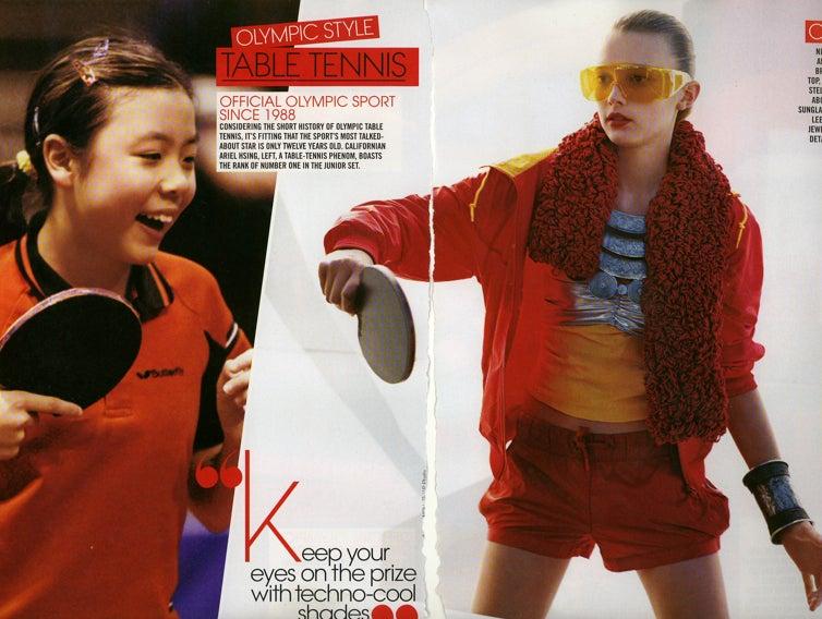 Teen Vogue Gives Summer Olympians A Sliiight Makeover