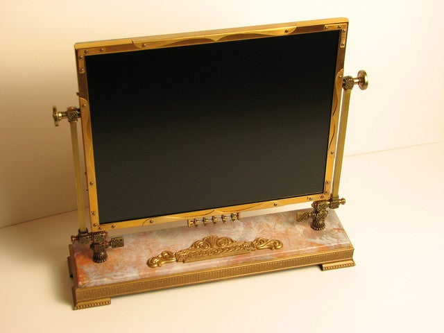 Modding an LCD Monitor the Steampunk Way