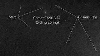 Here's What Comet Siding Spring Looked Like From Mars