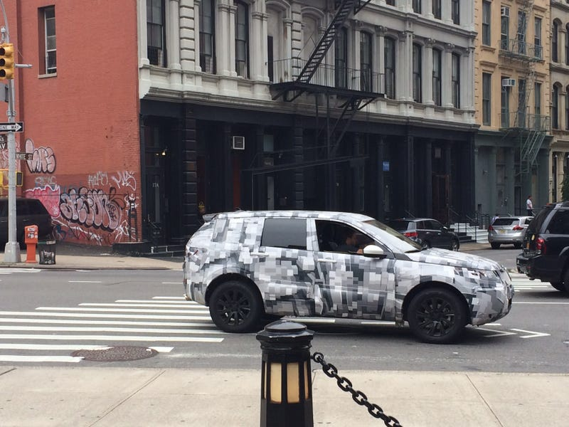 Land Rover Discovery Sport Prototype At Large In NYC