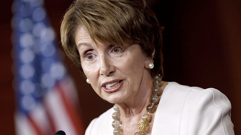Nancy Pelosi Reassures Us That the GOP Platform Is a Constipated Mess of Inconsistencies