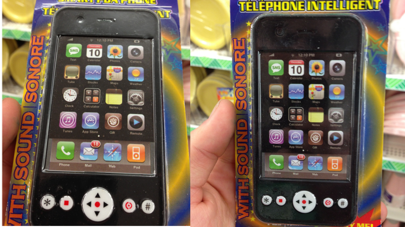 These Toy iPhones Come Jailbroken Right Out of The Box