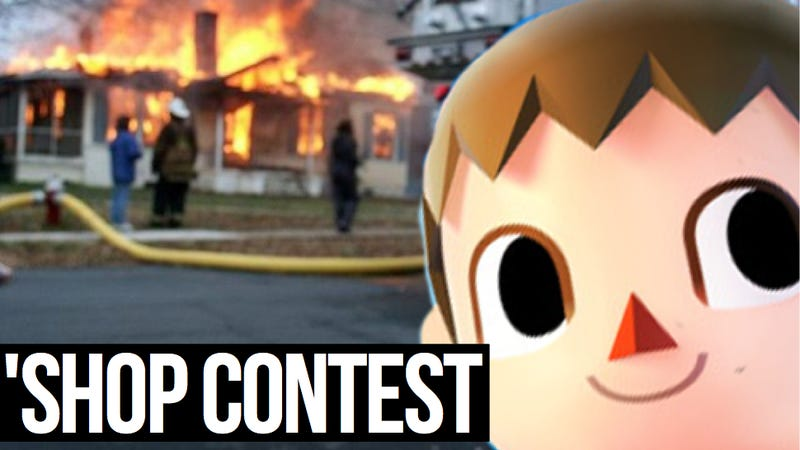 Kotaku 'Shop Contest: Burn This Villager