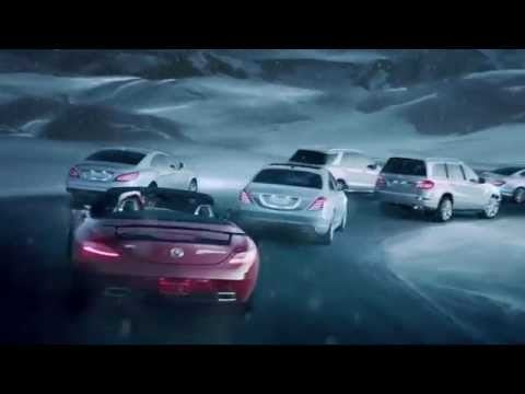 Mercedes christmas commercial for Mercedes benz winter event commercial