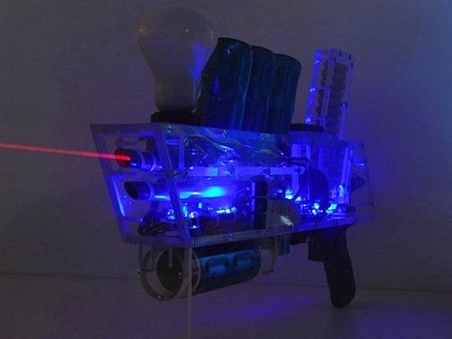 DIY Coil Gun with Laser Gun Sight Fires at 110km/h