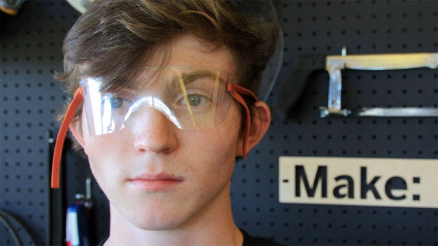 Make a Pair of Safety Goggles Out of a Soda Bottle
