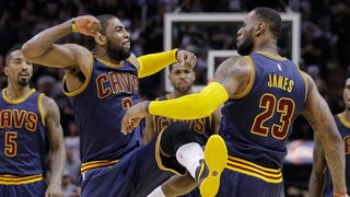 Kyrie Irving Unleashes All Hell In The Perfect Meaningless Game