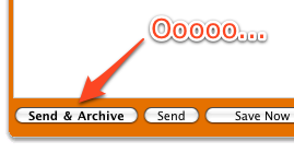 Send & Archive Replies to and Automatically Archives Email
