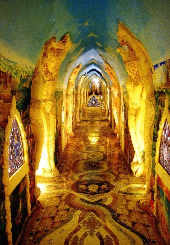 A modern-day esoteric shrine, deep beneath the Alps