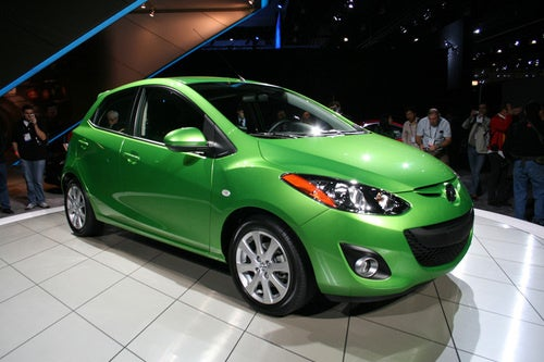 2011 Mazda2 Gets Happy U.S. Face, Summer 2010 Launch Date