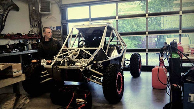 Tackling the Dakar Rally in an electric buggy