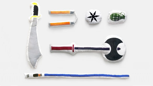 Oh Hell Yeah, You Can Buy Weapon Shaped Pillows for Your Next Pillow Fight Now