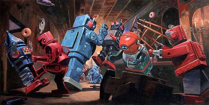 The Bad Robot Overlord's Favorite Robot Art