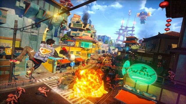 I'm Pretty Sure Sunset Overdrive is Ratchet & Clank Reskinned