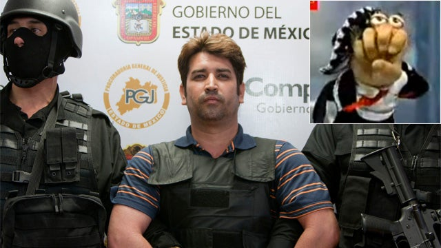 Mexico Arrests Mass-Murderer Named After a Hand Puppet