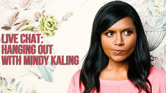 Mindy Kaling Visits Jezebel, Takes Your Questions