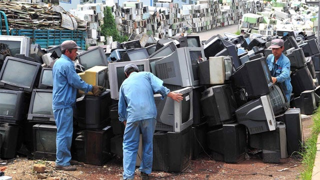 A Resting Place For China's Discarded Electronics