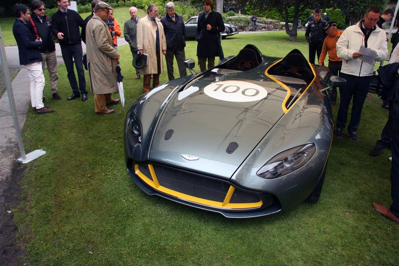 Aston Martin Stole The Show With The CC100 Speedster