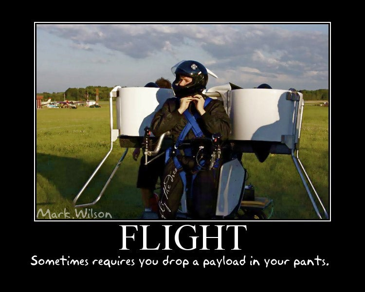 How It Feels to Fly a Jetpack