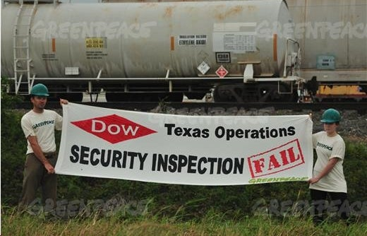 Dow Chemical's Foul Campaign to Spy on Greenpeace