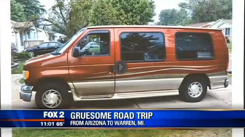 Man who went on cross-country road trip with corpse is morbid as fu%#