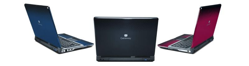 Gateway Introduces Colorful, HDTV-Friendly M-Series and T-Series Entertainment Laptops